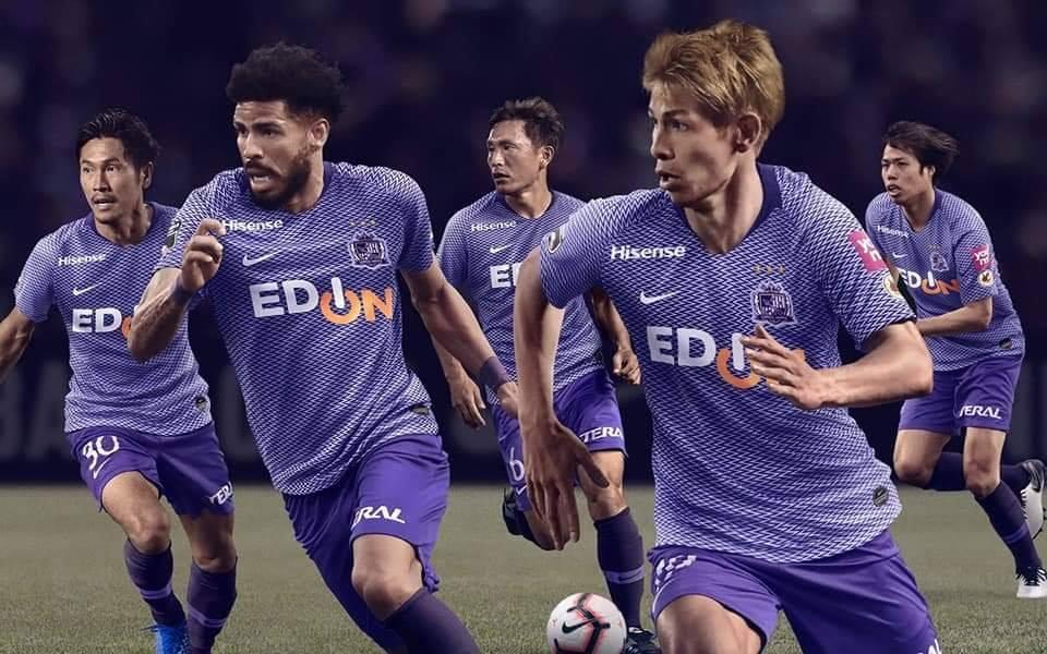 Camisas do Sanfrecce Hiroshima 2019 Nike