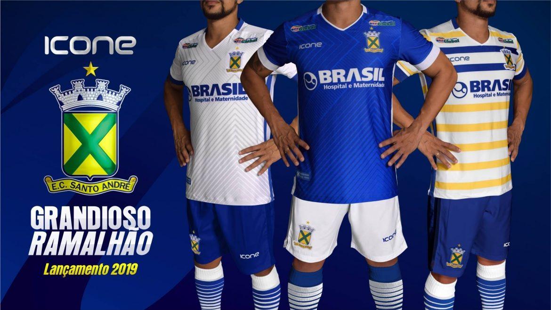 Camisas do Santo André 2019 Ícone Sports abre