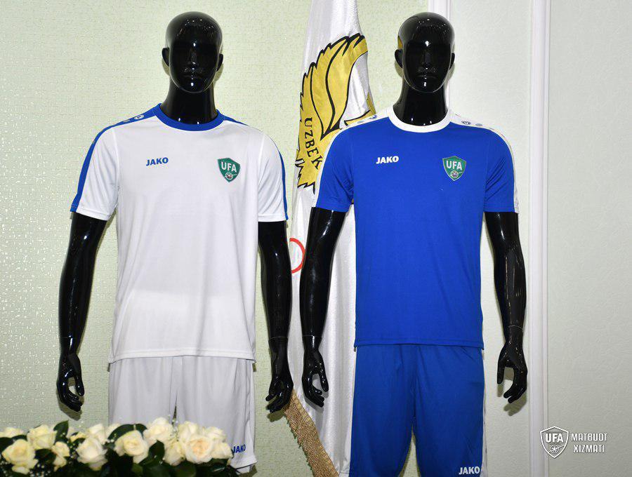 Camisas do Uzbequistão 2019 JAKO