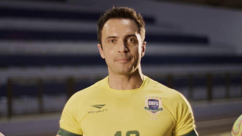 Falcão embaixador da Penalty