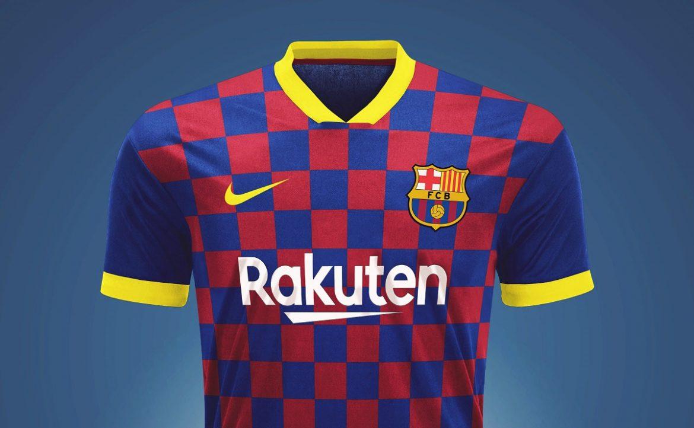 Leitor MDF Camisas do Barcelona 2019-2020 Nike (Rapha Marcos)