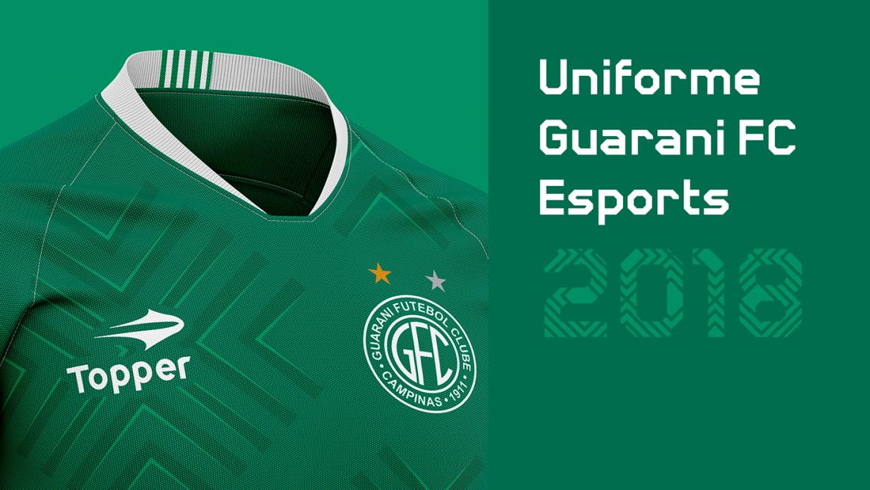 Leitor MDF Camisas do Guarani FC e-sports + modelos casuais (Pedro Tonelo)