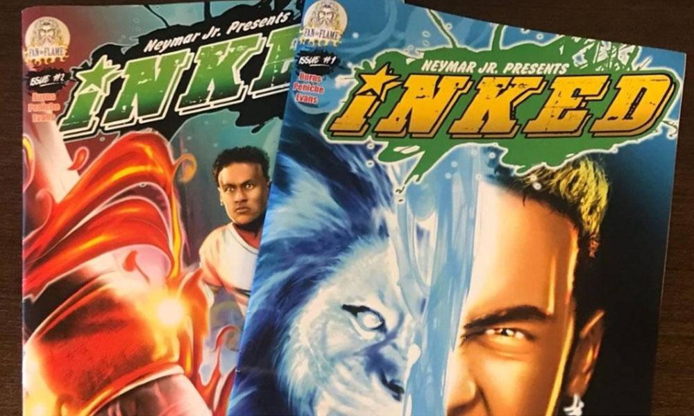 Neymar Jr. assume papel de super-herói em quadrinhos 'Inked'