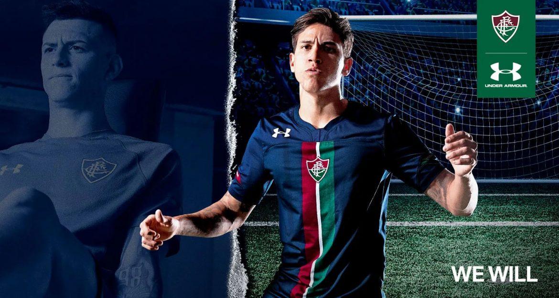 Terceira camisa azul do Fluminense 2019 Under Armour