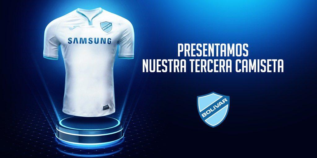 Terceira camisa do Club Bolívar 2019 Joma