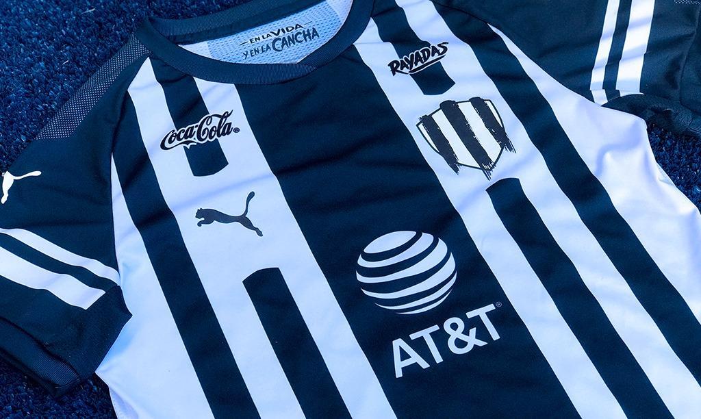 camisas das Rayadas de Monterrey 2019 PUMA abre