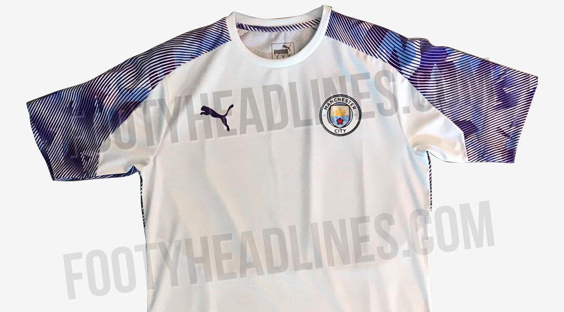 Peças de treino da PUMA para o Manchester City tem imagens vazadas