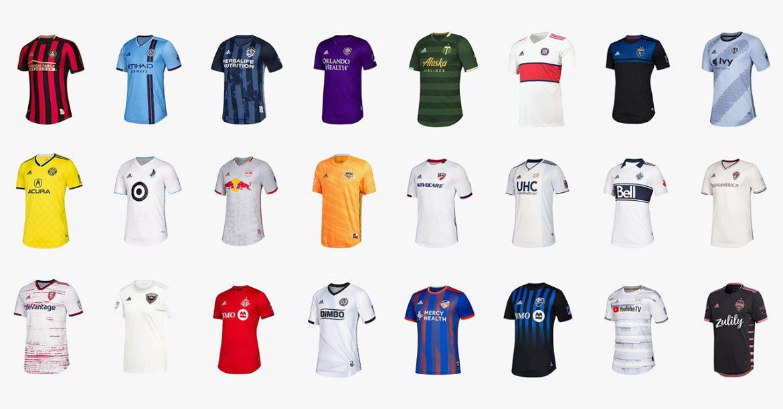 Camisas dos times da Major League Soccer 2019 Adidas