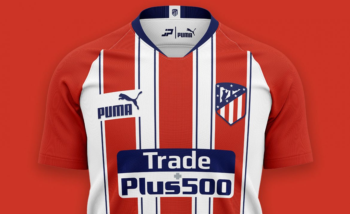 Camisas do Atlético de Madrid 2020-2021 PUMA