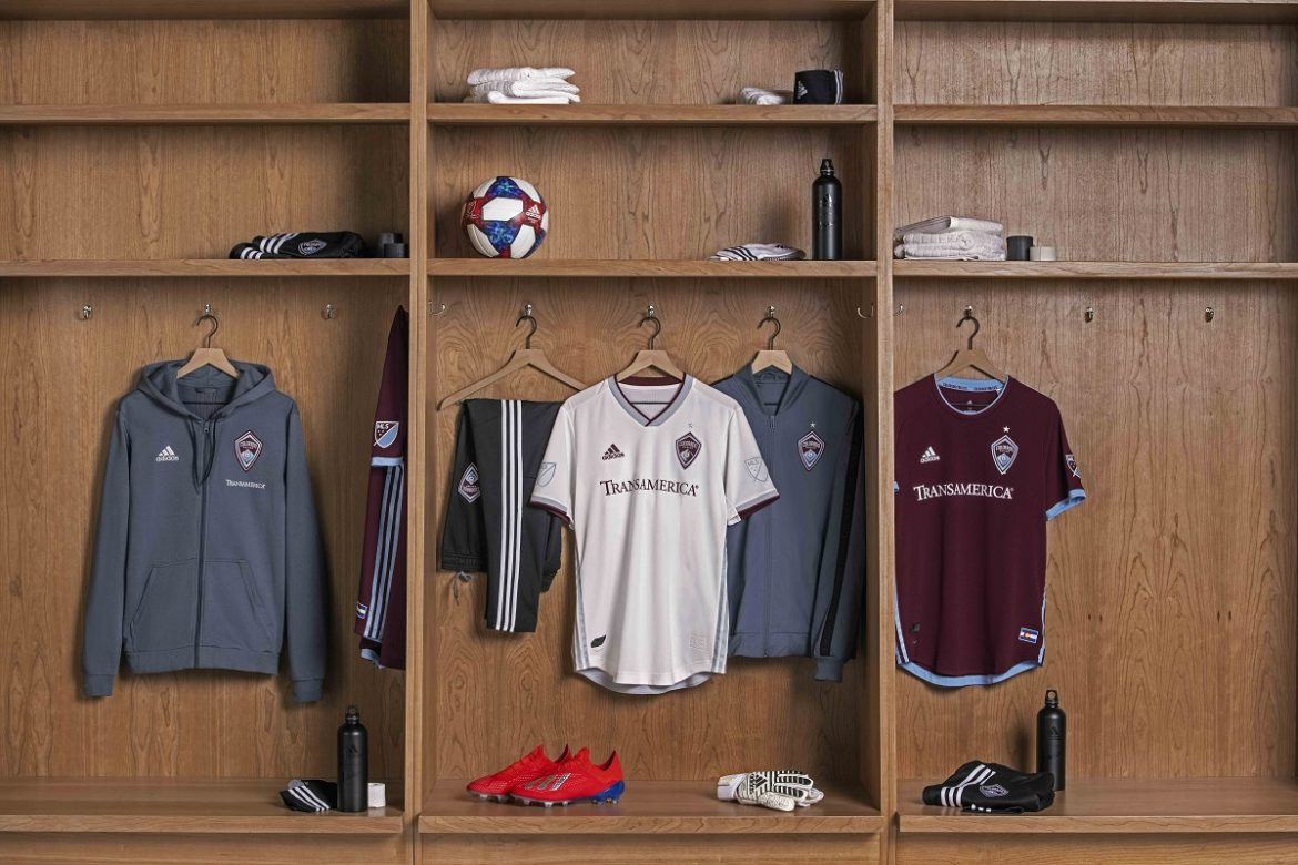 Camisas do Colorado Rapids 2019 Adidas MLS