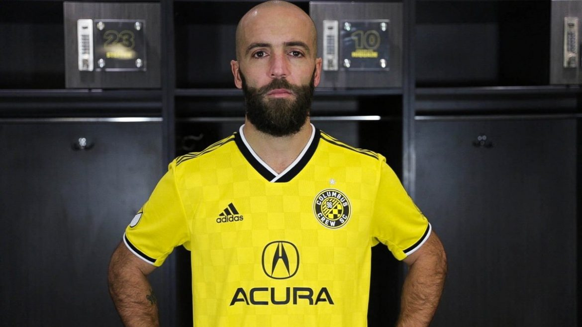 Camisas do Columbus Crew 2019 Adidas MLS abre