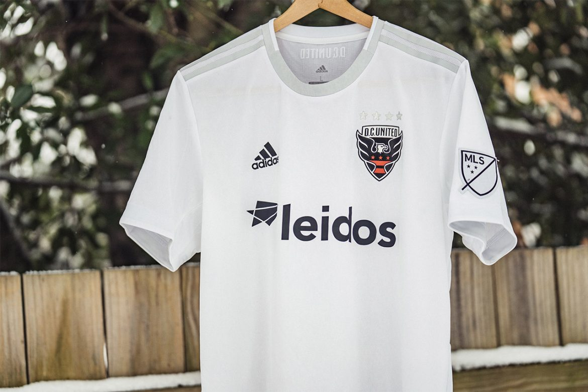 Camisas do DC United 2019 Adidas Reserva abre