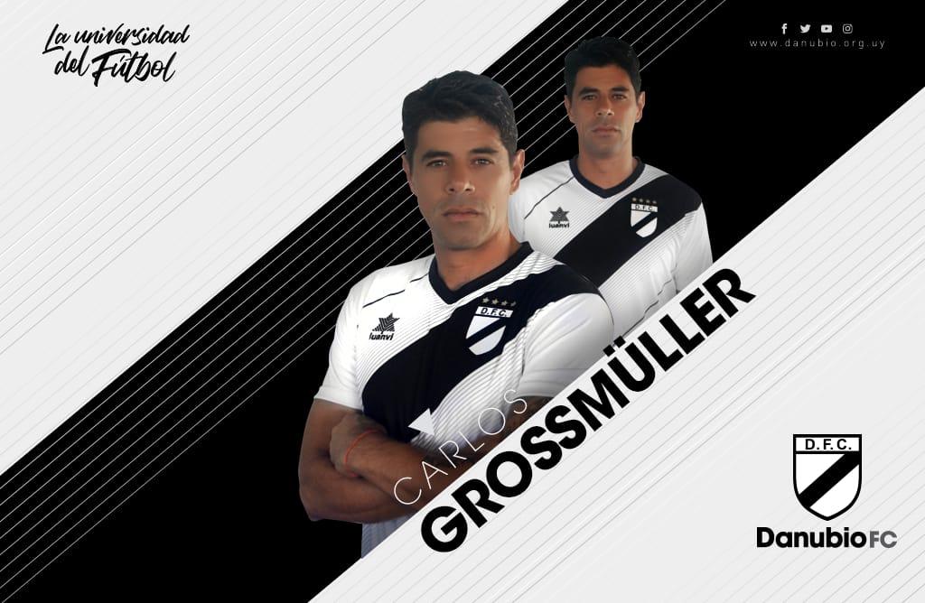 Camisas do Danubio 2019 Luanvi Titular