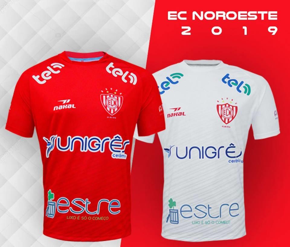 Camisas do EC Noroeste 2019 Nakal