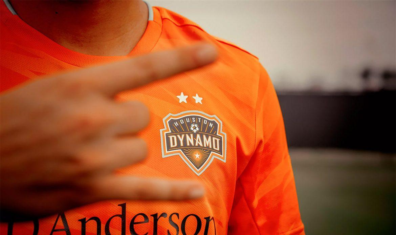 Camisas do Houston Dynamo 2019 Adidas abre