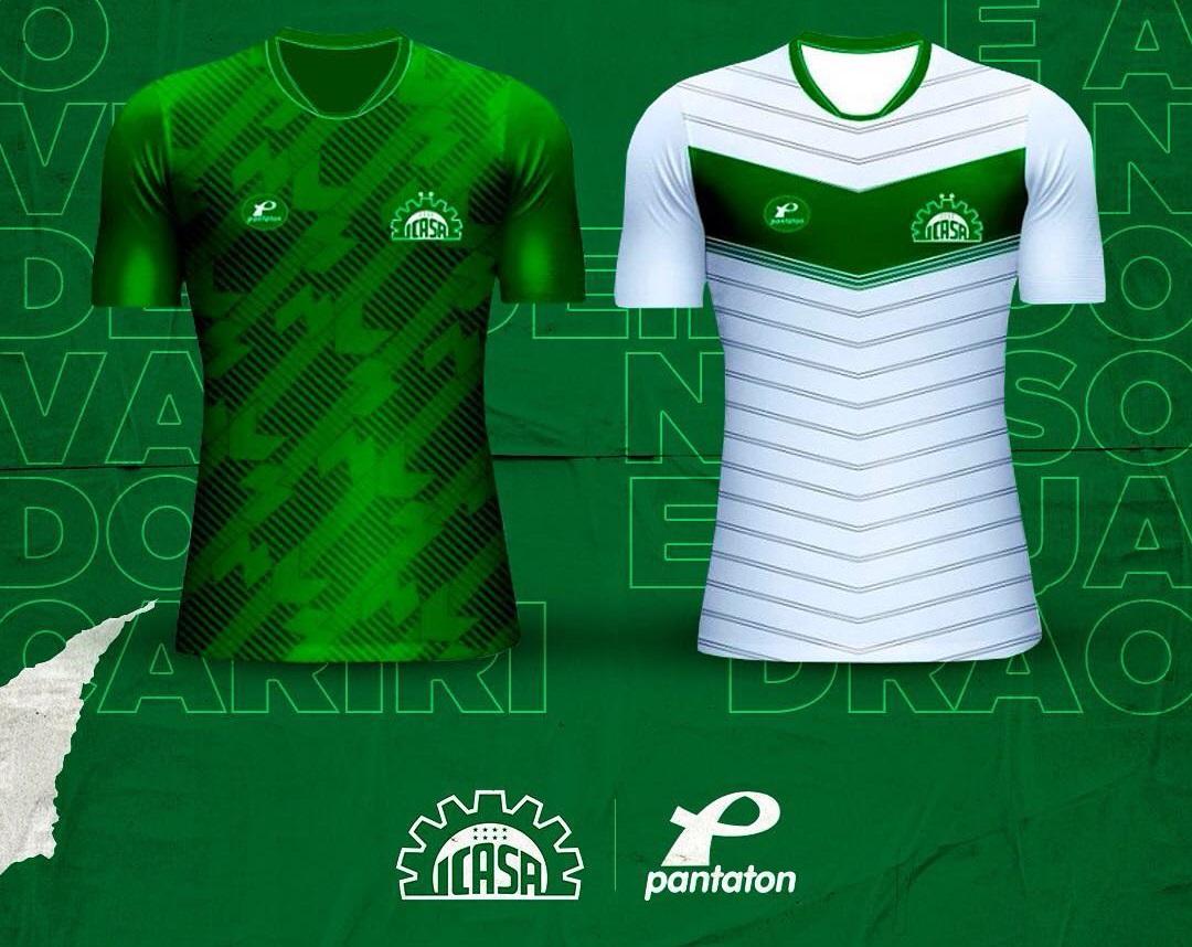 Camisas do Icasa 2019 Pantaton