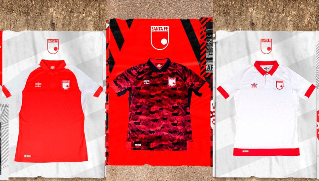 Camisas do Independiente Santa Fe 2019 Umbro