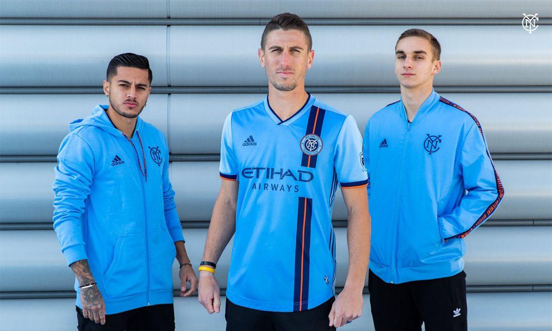 Camisas do New York City FC 2019 Adidas