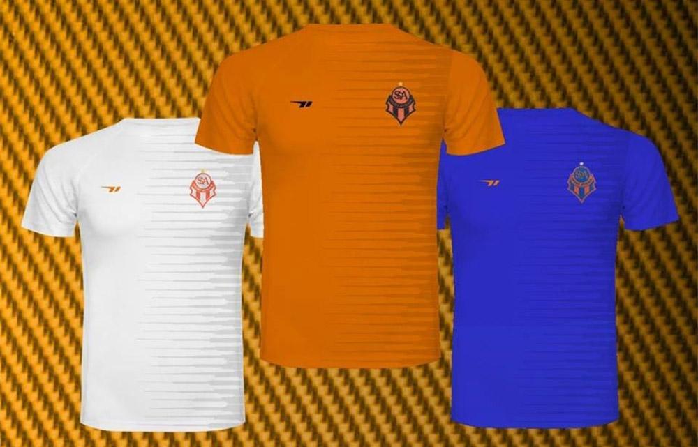 Camisas do SC Atibaia 2019 Nakal Abre