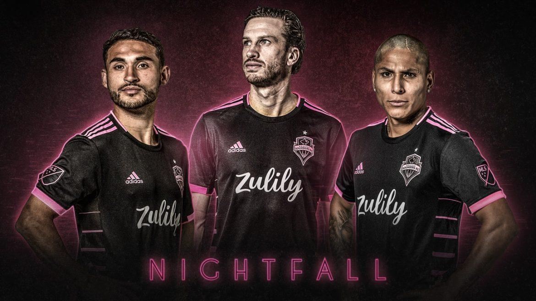 Camisas do Seattle Sounders 2019 Adidas Nightfall