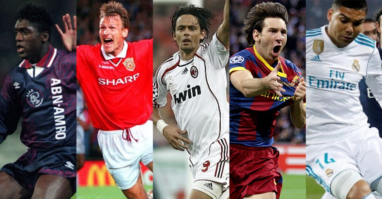 Camisas dos campeões da UEFA Champions League (1989-2018)