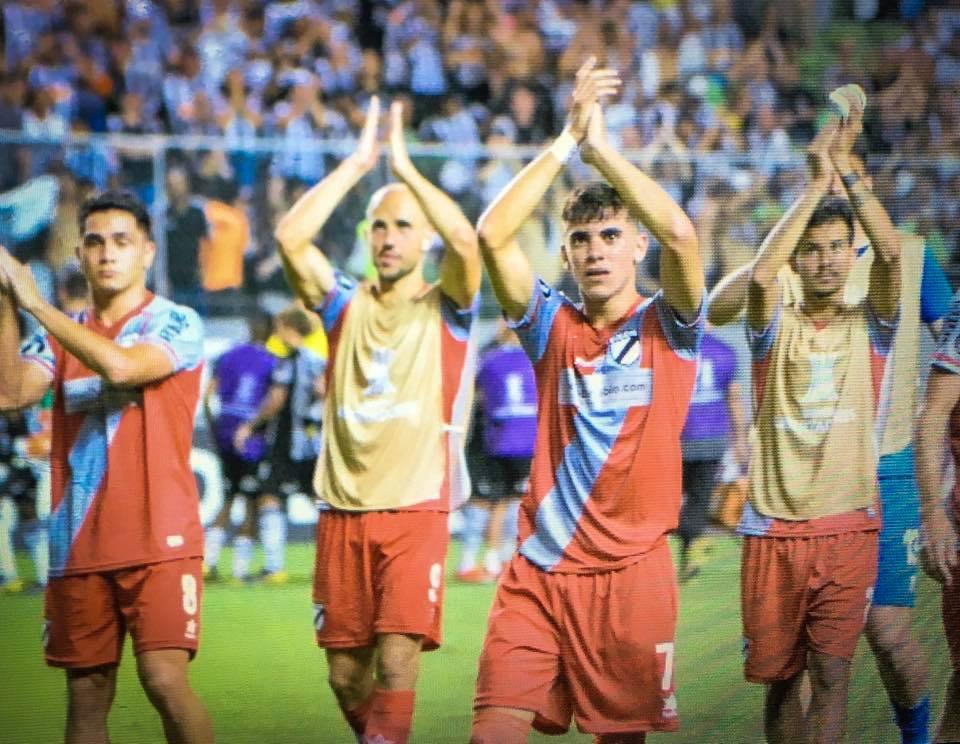 Danubio joga com camisas de goleiro contra Atlético-MG
