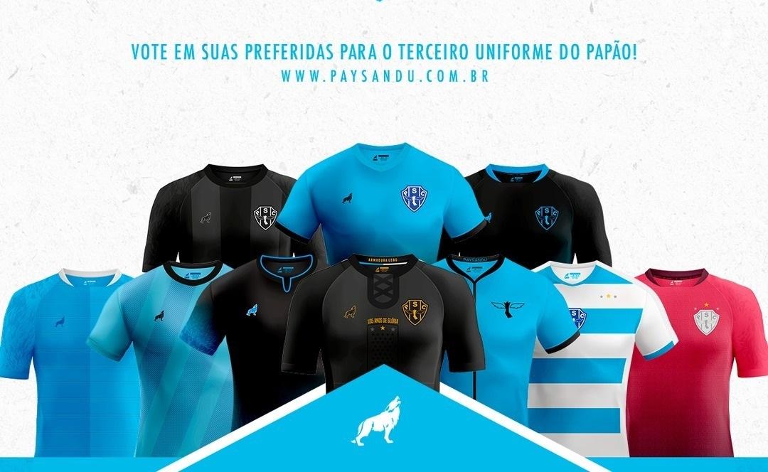 Paysandu divulga finalistas do concurso para terceira camisa 2019