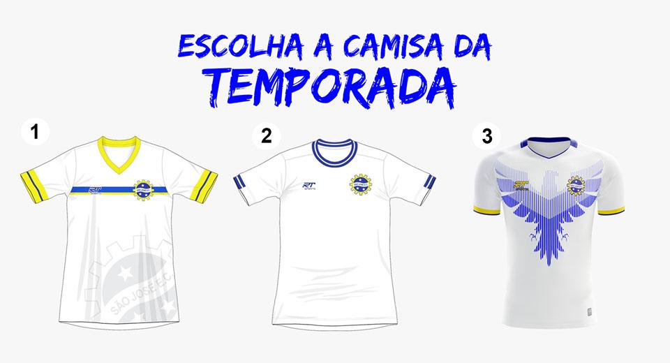 São José EC lança votação para eleger camisas 2019 abre