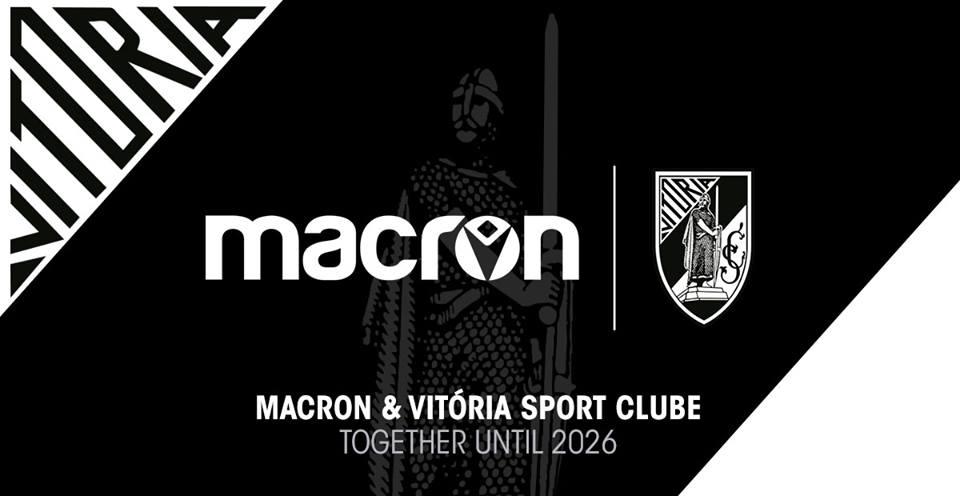 Vitória Guimarães e Macron renovam parceria até 2026