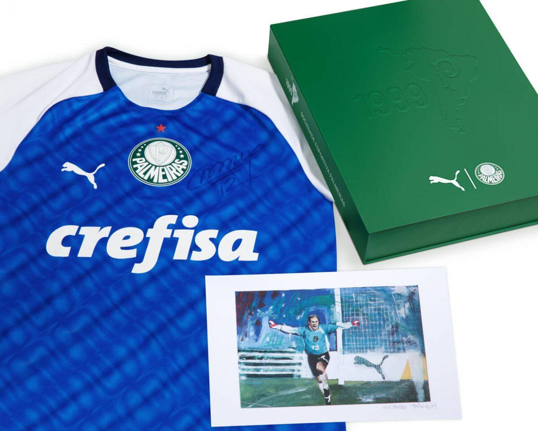Camisa #Palmeiras1999 começa a ser vendida em kit especial por R$ 799