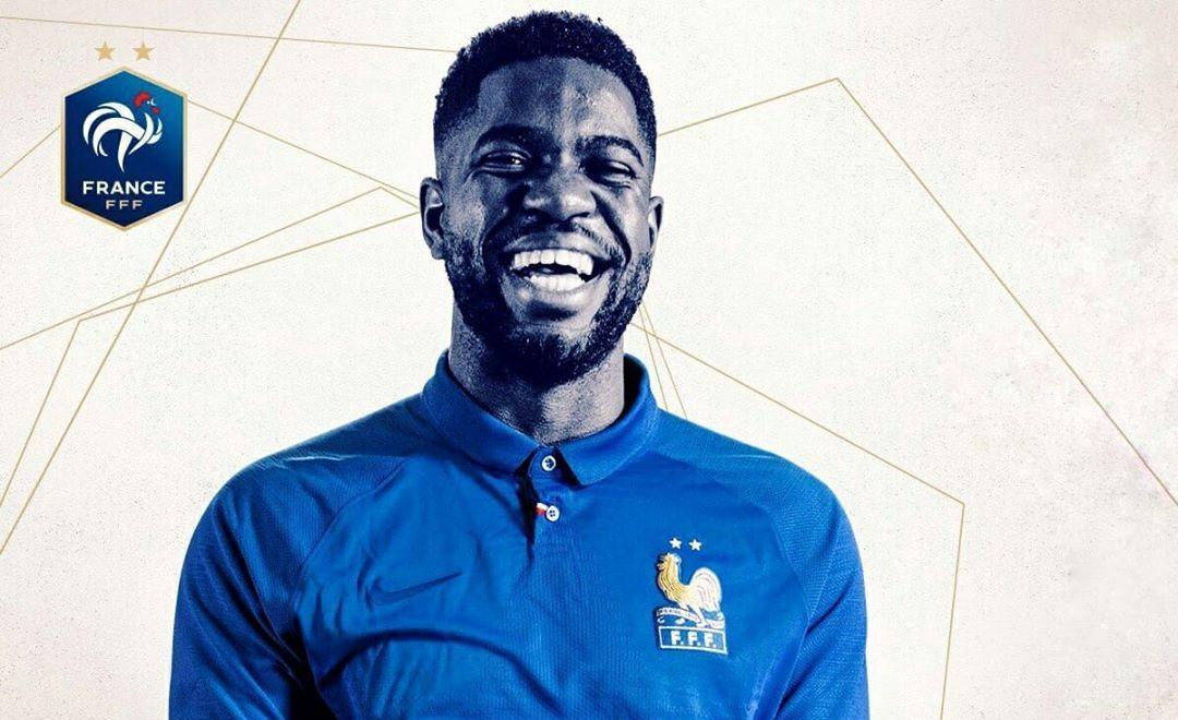 Camisa da França para o centenário da FFF 2019 Nike abre