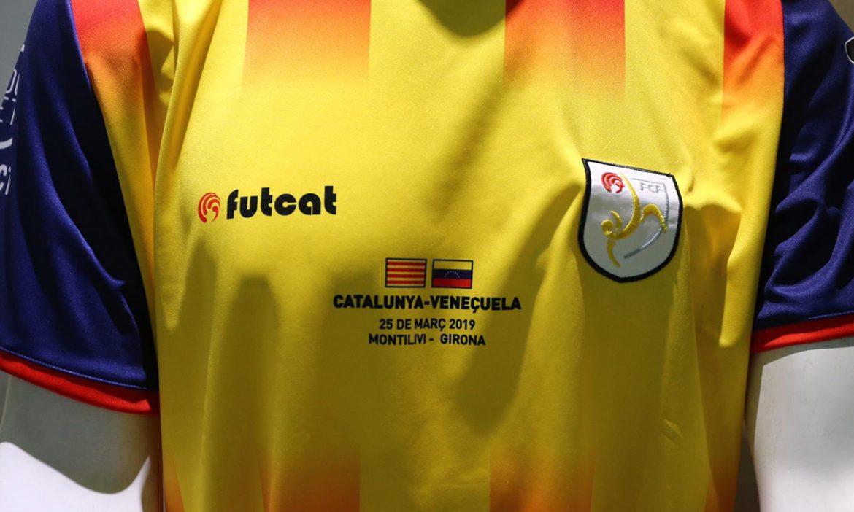 Camisa da Seleção da Catalunha 2019 Futcat