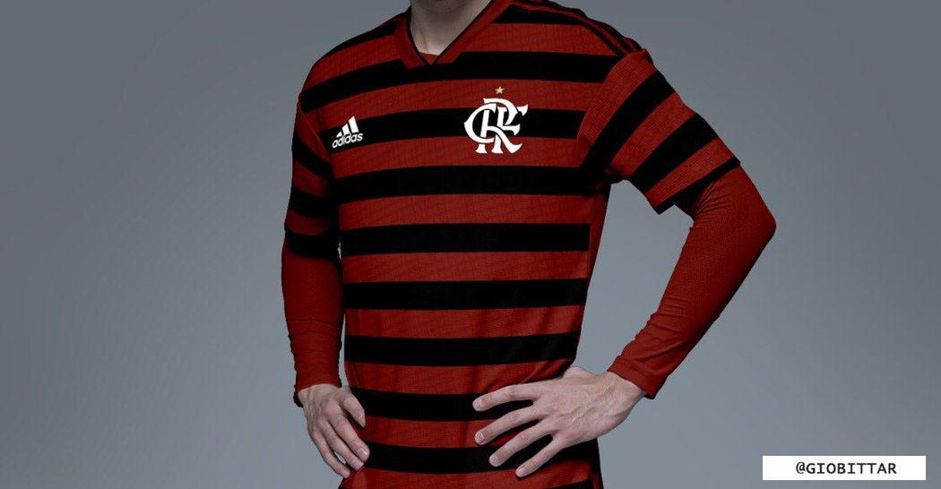 Camisa do Flamengo 2019-2020 Adidas @giobittar abre