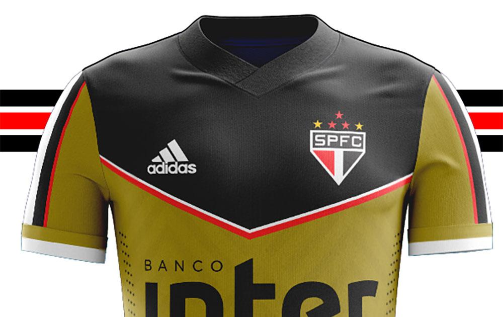 Camisa em homenagem ao Gol 100 de Rogério Ceni Adidas