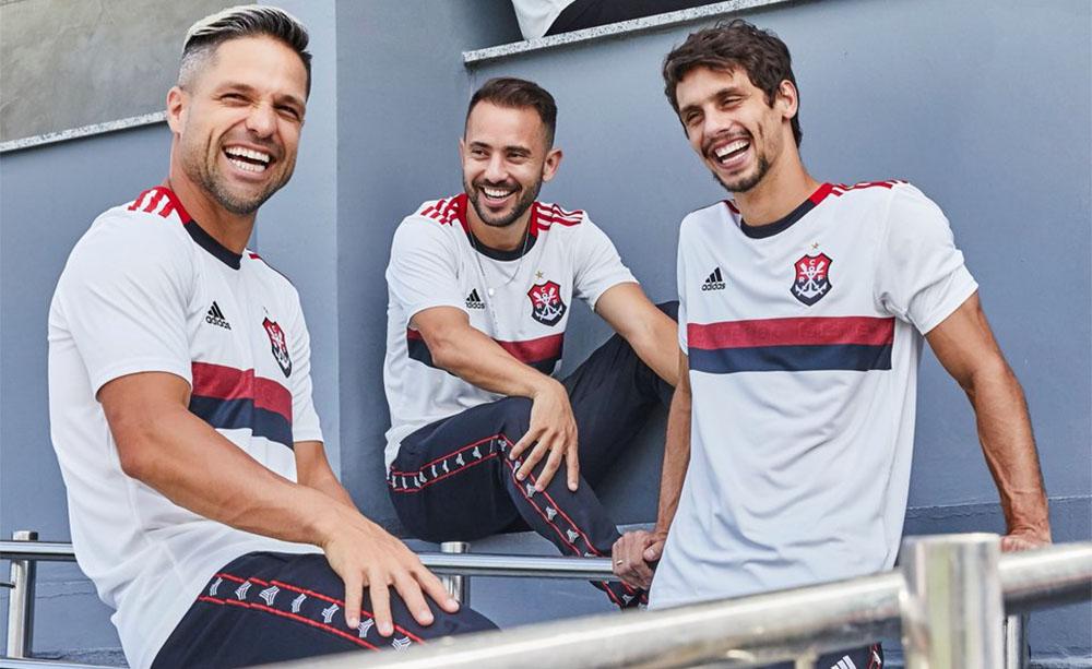 Camisa reserva do Flamengo 2019-2020 Adidas