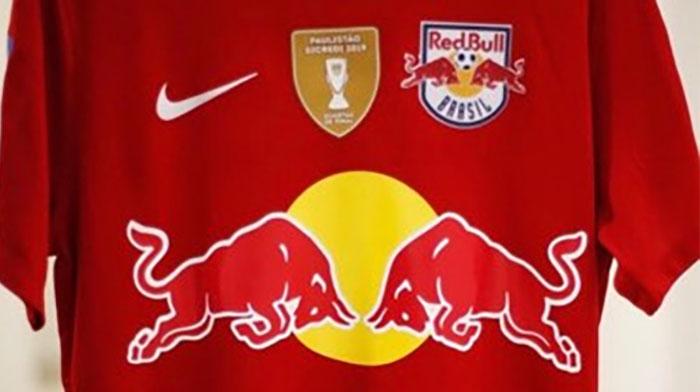 Camisa vermelha do Red Bull Brasil 2019 Nike 2