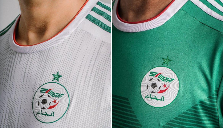 Camisas da Argélia 2019-2020 Adidas