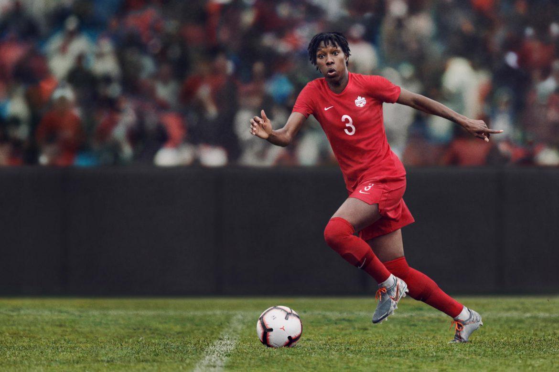Camisas da Seleção Feminina do Canadá 2019 Nike Copa do Mundo