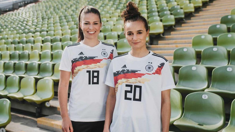 Camisas da seleção feminina da Alemanha 2019 Adidas abre