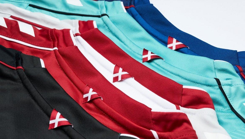 Camisas da seleção feminina da Dinamarca 2019 Copa do Mundo