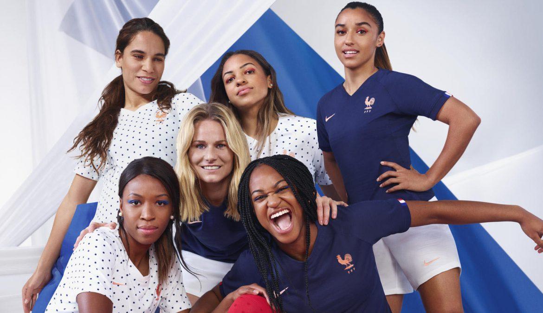 Camisas da seleção feminina da França 2019 Nike Copa do Mundo