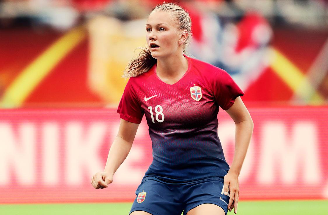 Camisas da seleção feminina da Noruega 2019 Nike Copa do Mundo
