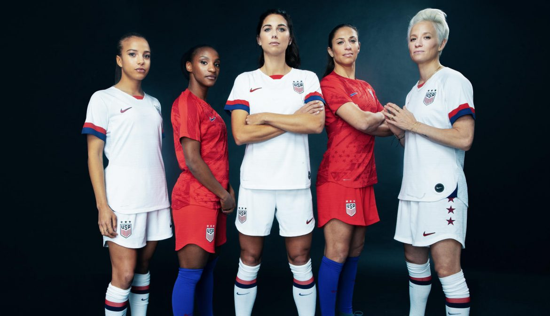 Camisas da seleção feminina dos EUA 2019 Copa do Mundo