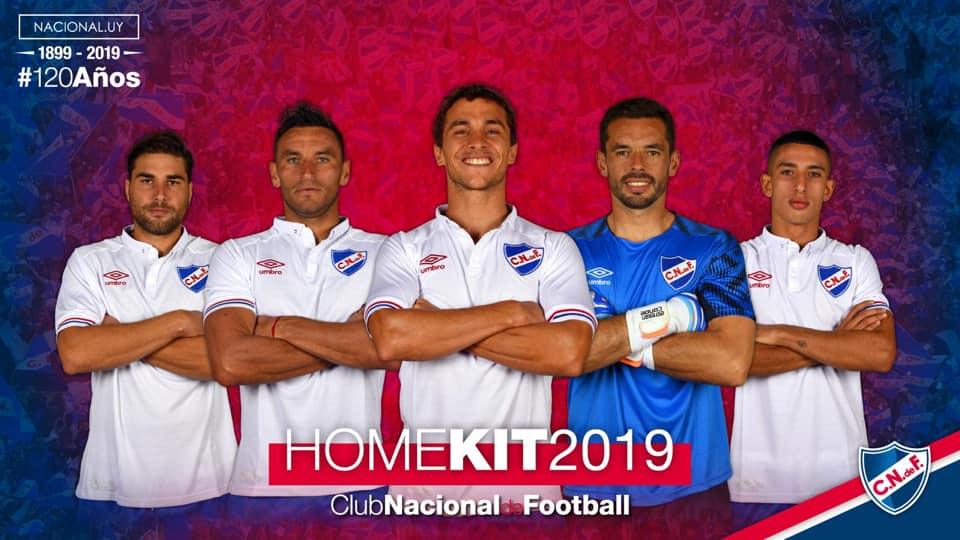 Camisas do Club Nacional 2019 Umbro abre