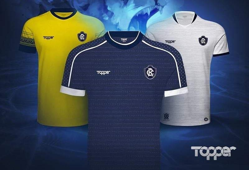 Camisas do Clube do Remo 2019 Topper