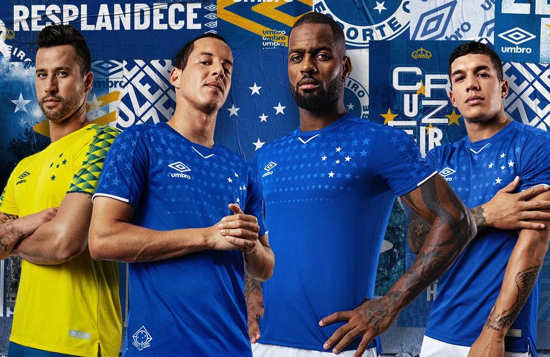 Camisas do Cruzeiro 2019 Umbro abre