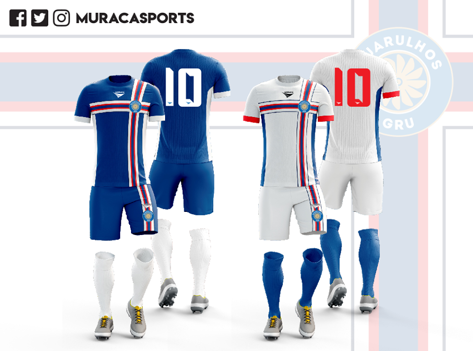 Camisas do Guarulhos GRU 2019 Muraca Sports