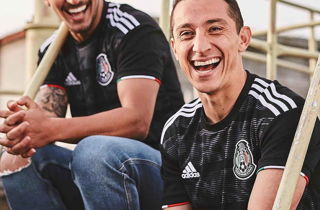 Camisas do México 2019-2020 Adidas abre