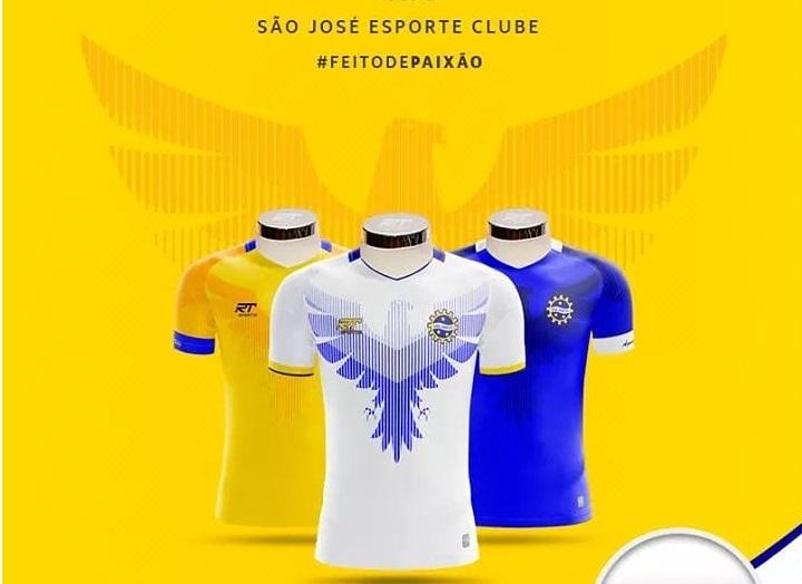 Camisas do São José EC 2019 RT SportsCamisas do São José EC 2019 RT Sports