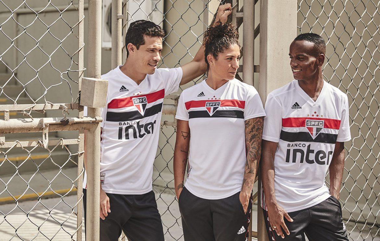 Camisas do São Paulo 2019-2020 Adidas